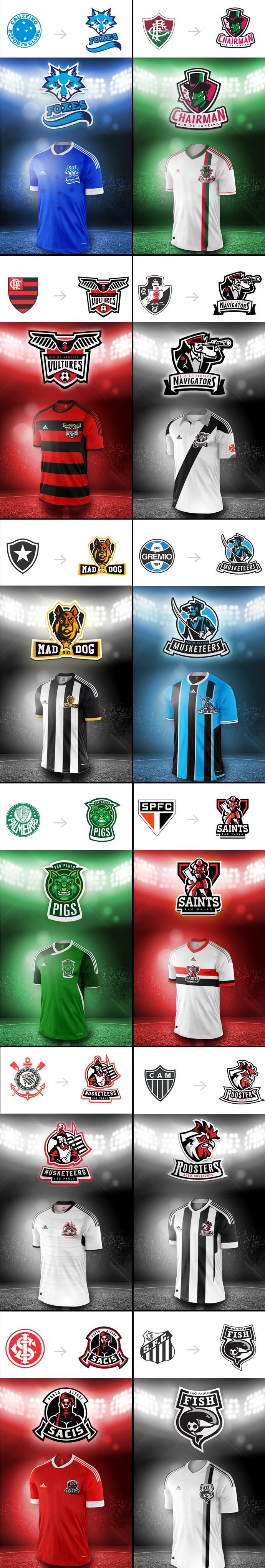 Versão americana dos clubes esportivos brasileiros 2255deb2feffe